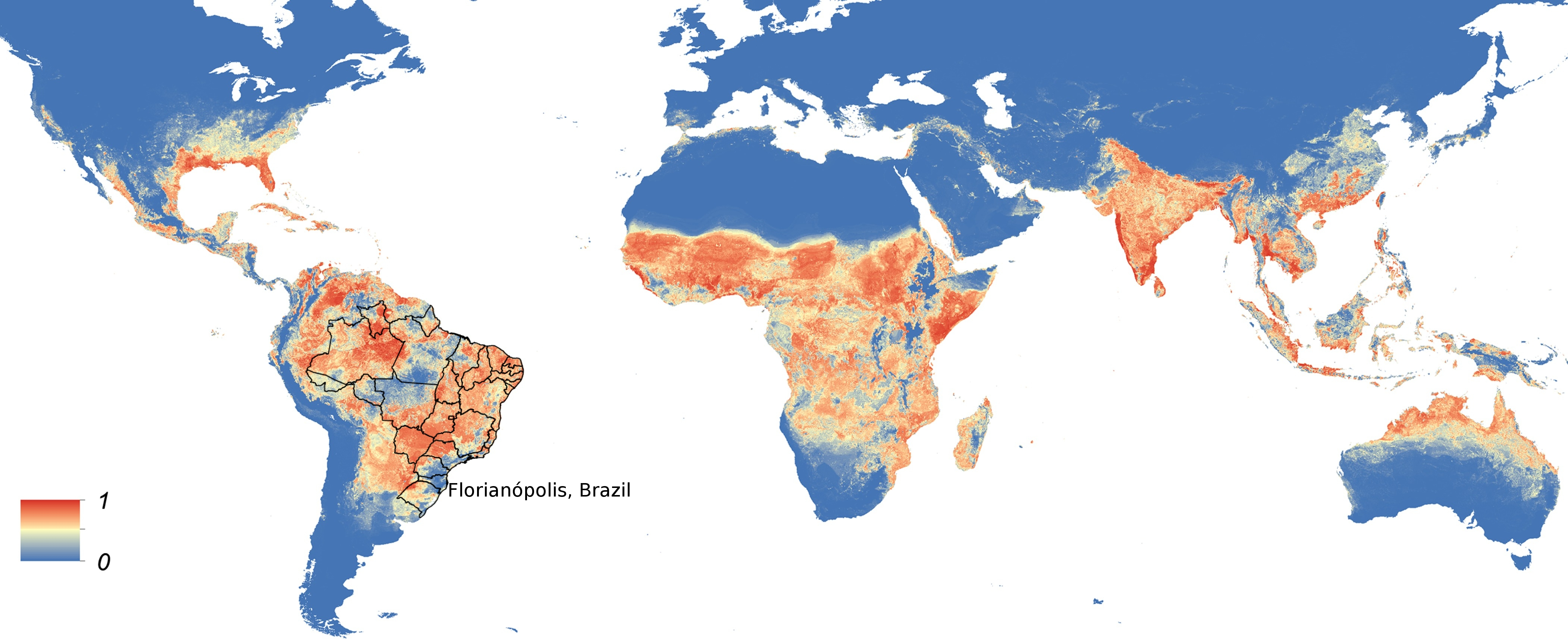 Advice for travellers acm sigcomm 2016 image global map of the predicted distribution of ae aegypti adapted from elifesciences gumiabroncs Image collections