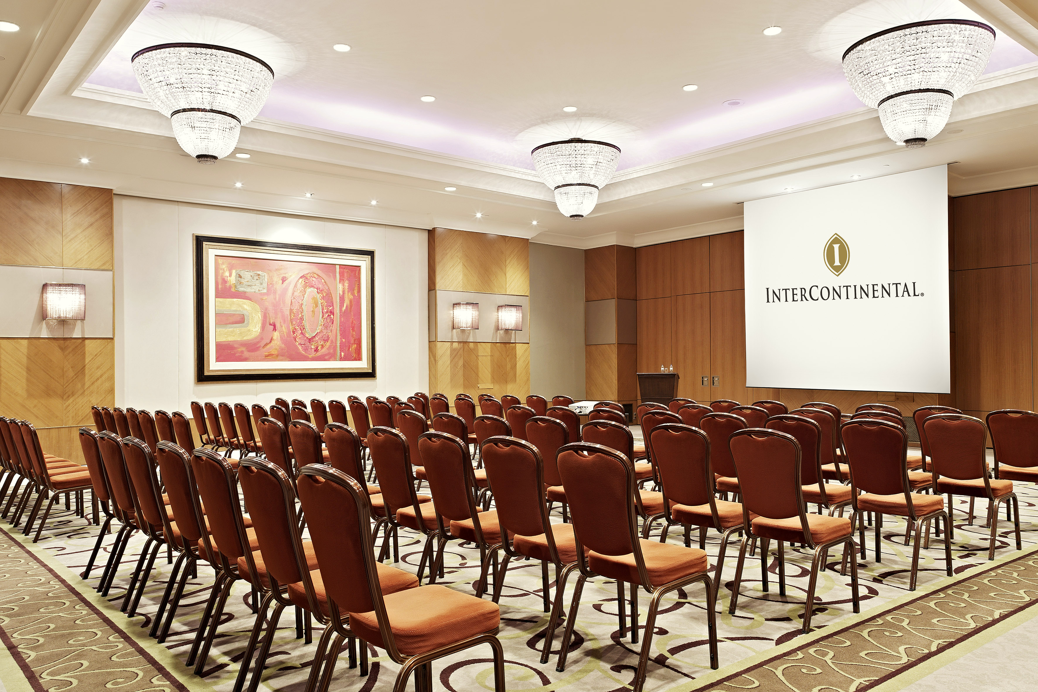 Intercontinental meeting room